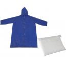 Impermeable Personal Torino de polipropileno con botones y funda PROMOCIONAL