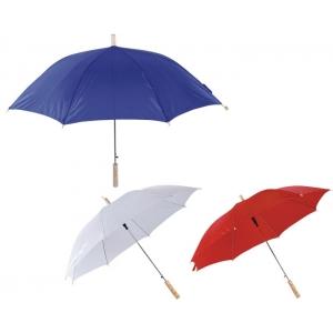 Paraguas Corinto automatico con mango de madera PROMOCIONAL