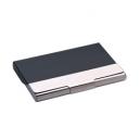 Tarjetero bicolor de hierro con aluminio