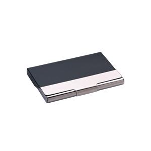 Tarjetero bicolor hierro con aluminio PROMOCIONAL