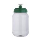 Anfora cilindro Vaso Pet 500 ml transparente con chupon PROMOCIONAL
