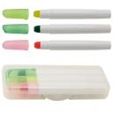 Set de 3 marcadores lucent con estuche