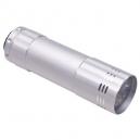 Lámpara LED de aluminio, baterías no incluidas