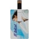 Memoria USB 4GB en forma de tarjeta súper delgada y practica