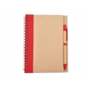 LIBRETA BIO DEGRADABLE CON PLUMA PROMOCIONAL