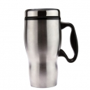 Taza térmica de doble pared TUNDER 425 ml con asa