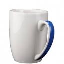 Taza de cerámica DOLCE 443ml con asa de color
