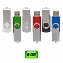 Memoria USB Giratoria London 8 GB