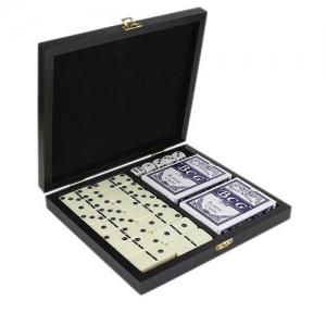 Set de juegos de mesa con domino,2 barajas y 5 dados ARUA