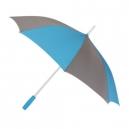 Paraguas o sombrilla bicolor con mango recto de plástico ELGIN