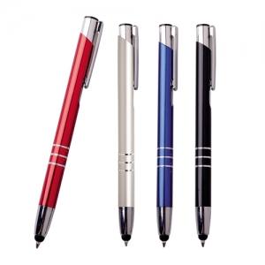 Bolígrafo o pluma metálica Elegance con punta touch