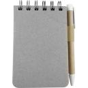 Libreta Ecológica EcoPark con bolígrafo 80 Hj PROMOCIONAL