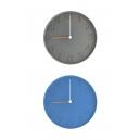 Reloj de pared Manhattan japonés de Silicón