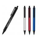 Pluma o bolígrafo metálico Tariba con clip