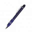 Bolígrafo con grip antiderrapante y acabados cromados BOSTON