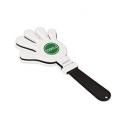 Aplaudidor de plástico en forma da mano
