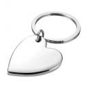 Llavero metálico en forma de corazón modelo NICE