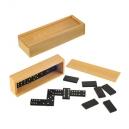 Bonito domino con estuche de madera modelo BOX