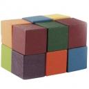 Juego destreza mental cubos multicolor 10y20