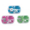 Mini set para escritorio Trim con estuche plástico