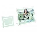 Portarretrato de vidrio Camila biselado para sublimar