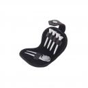 Accesorios para golf en estuche de curpiel color negro