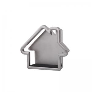 Porta documentos metálicos en forma de casita