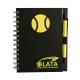 Libreta ecológica con bolígrafo disponible en 5 deportes diferentes