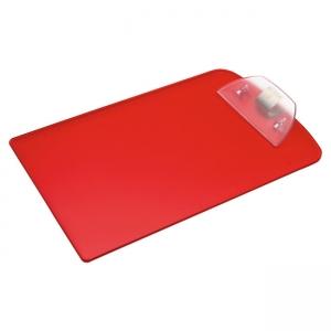 Tabla de plástico con clip en dos colores