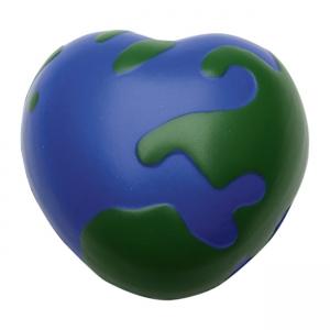 Mundo en forma de corazón anti estrés