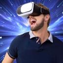 Lentes o visor de realidad virtual para celular o Smartphone