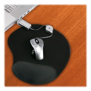 Mouse pad con cojín ergonómico de gel
