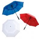 Paraguas de doble falda corta vientos