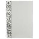 Cuaderno para Colorear Doodle color blanco