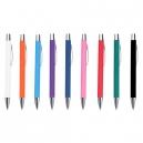 Bolígrafo metálico TAGU retráctil de metal y Rubber