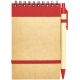 Libreta miniAnotador Ecológico con Bolígrafo 50 hojas lisas