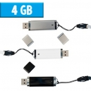 USB Rectangular 4 GB