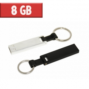 USB Llavero Metálico 8 GB