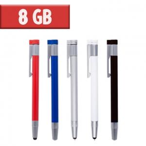 USB Bolígrafo Touch 8 GB
