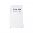 Estuche plástico con 6 toallas húmedas de alcohol 10 x 15 cm
