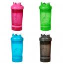 Shaker o botella mezcladora Nerja 560 ml con compartimentos