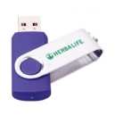 Memoria USB flash de 4GB con cubierta giratoria