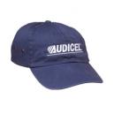 Gorra de algodón tipo mezclilla
