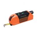 Flexómetro con nivel laser y calculadora