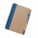 Libreta Ecológica de 70 hojas lisas con bolígrafo