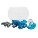 Mini set de oficina de 5 accesorios con estuche plástico