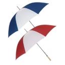 Sombrilla o paraguas de poliéster bitono