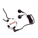 Radio en forma de balón de futbol