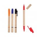 Dúo ecológico de bolígrafo y plumón