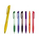 Pluma o bolígrafo plástico con grip Quebec